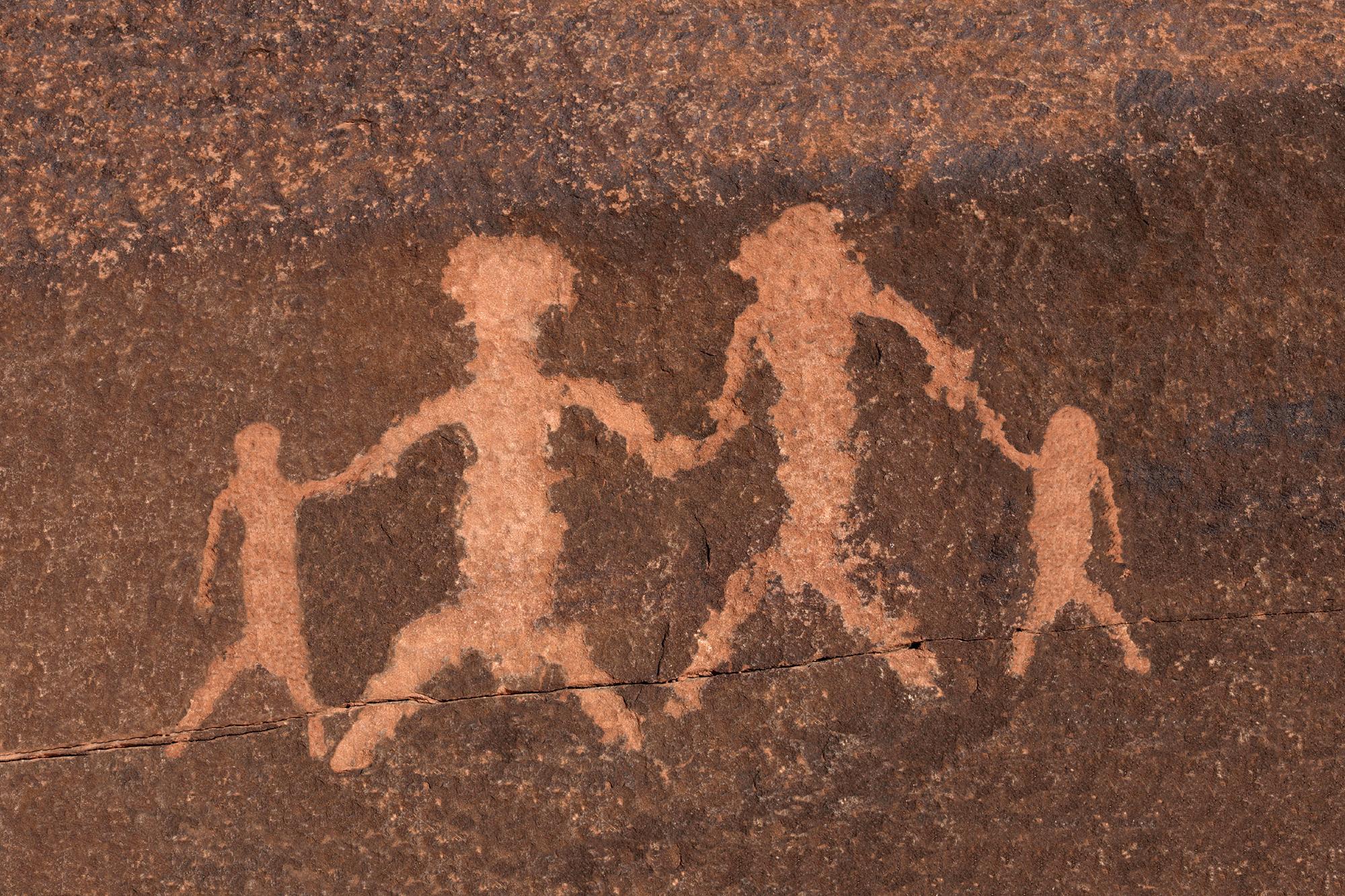 Petroglyph family
